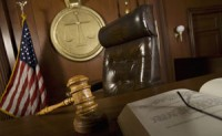 a judge's chair