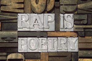 Rap is poetry