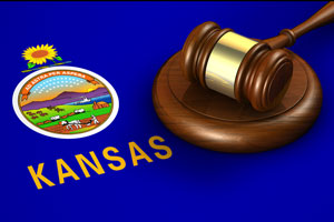 Kansas US State Law Legal System Concept