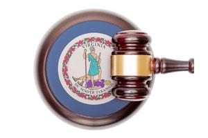 Virginia Justice Concept