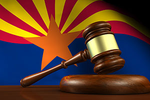 Arizona Legal System Concept