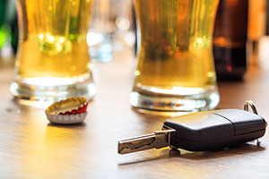 DUI, Beer, Car Keys