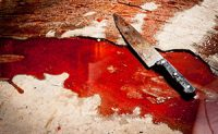Murder, Bloody knife