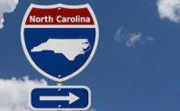 North Caroline sign