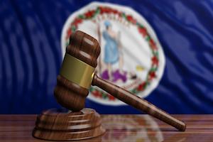 Virginia court gavel